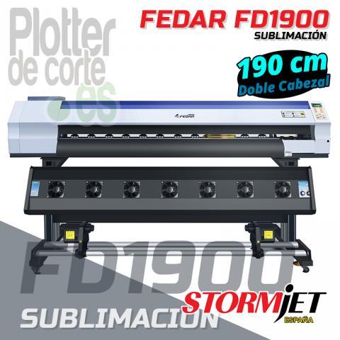 Nueva impresora de sublimacion Fedar FD1900 OFERTA LIMITADA