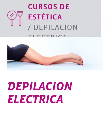 Curso Depilación Electrica