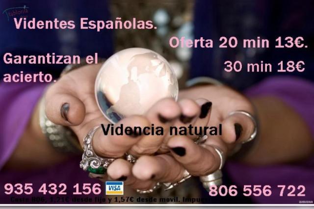 Videntes y tarotistas 935 432 156. Son españolas, acierto seguro