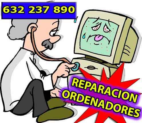 ORDENADORES Y PORTATILES REPARACION