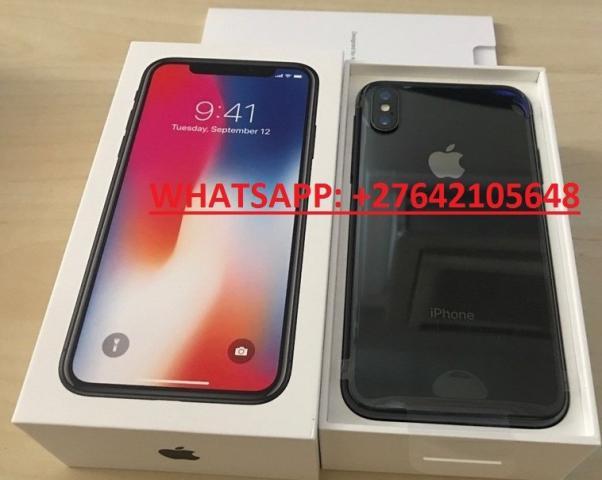 Apple iPhone X 64GB 400 EUR y iPhone X 256GB