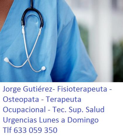 Fisioterapeuta Urgencias Madrid Capital