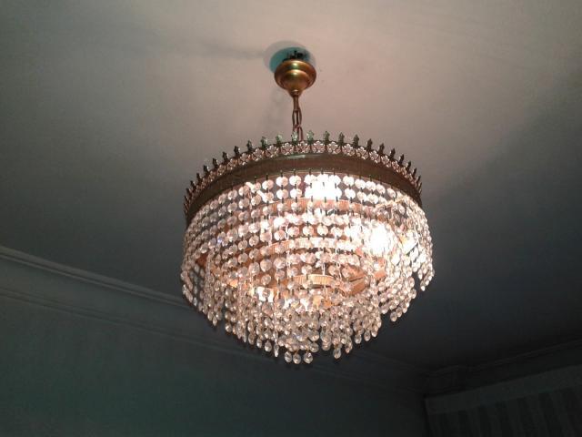 Lote 6 lamparas de techo