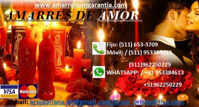 CONCILIACION DE PAREJAS - AMARRES DE AMOR