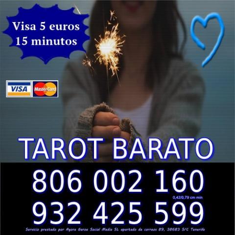 Tarot Barato. Consulta Visa 15 min 5 . 806 barato 0,42 cm min.