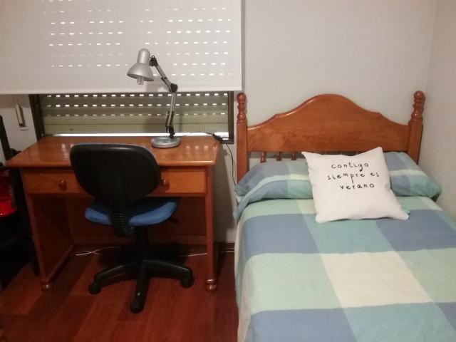 Dormitorio juvenil y escritorio