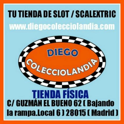 DIEGO COLECCIOLANDIA ( JUGUETERÍA SCALEXTRIC MADRID )