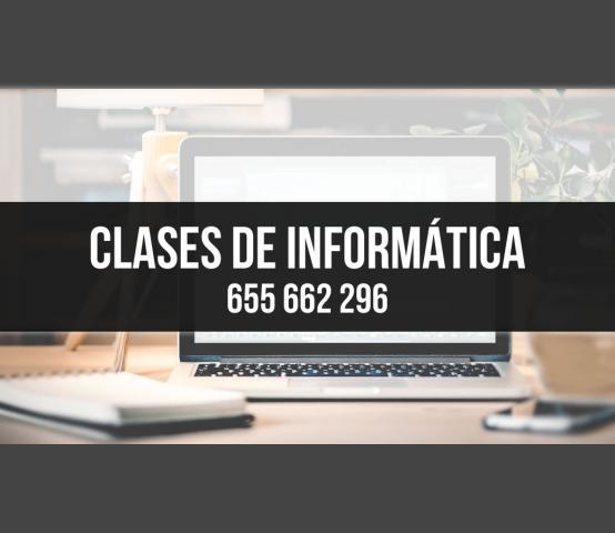 Clases y cursos de informática a domicilio