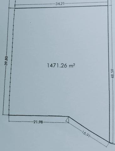 Parcela 1.471 metros cuadrados