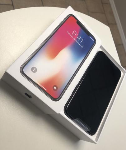 Nuevo iPhone X 256GB- telà fono desbloqueado