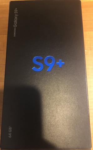 Samsung Galaxy S9 Plus 64GB nuevo