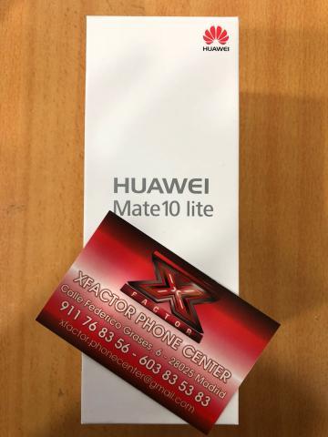 HUAWEI MATE 10 LITE 4GB 64GB BLUE PRECINTADO