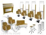 Muebles exclusivos para salón de belleza