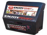 Atraiga clientela con esta máquina de Canalización de Loterías