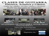 Academia de Guitarra en Ortuella/Bilbao/Castro/Portugalete.