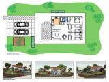 Casa modular de 80 m2 de hormigón