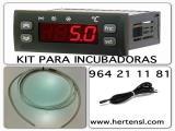 TERMOSTATO ESPECIAL PARA INCUBADORAS - ALTA PRECISION -