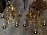 VENDO LAMPARAS DE BRONCE